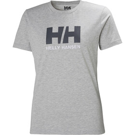 Helly Hansen HH Logo T-Shirt Damen grey melange